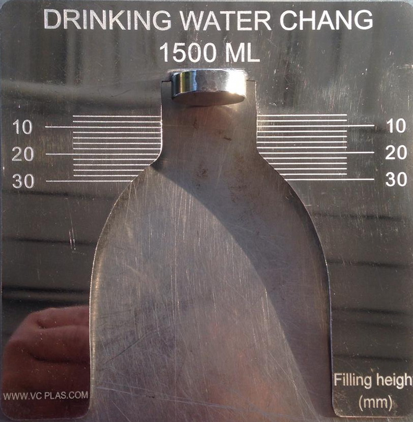 DRINKING WATER CHANG
